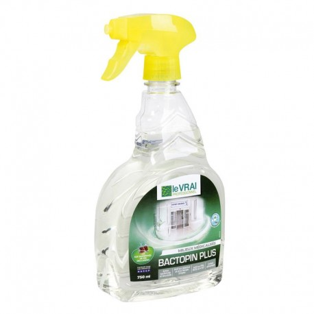 BACTOPIN plus® SPRAY BACTERICIDE VIRUCIDE (COVID 19) x 750ML